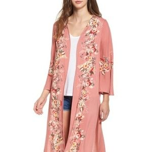 New Love, Fire Placed Floral Kimono
